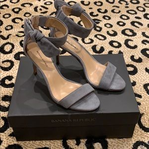 "NEW ""Jasmine"" Banana Republic Heeled Sandals"